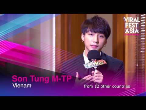 Viral Fest Asia 2017 Interview - Son Tung M-TP