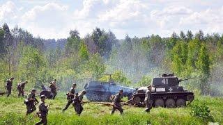 Бой Великой Отечественной Войны в городе Ступино