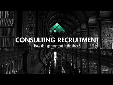 Consulting 101 - Your Recruitment Strategy