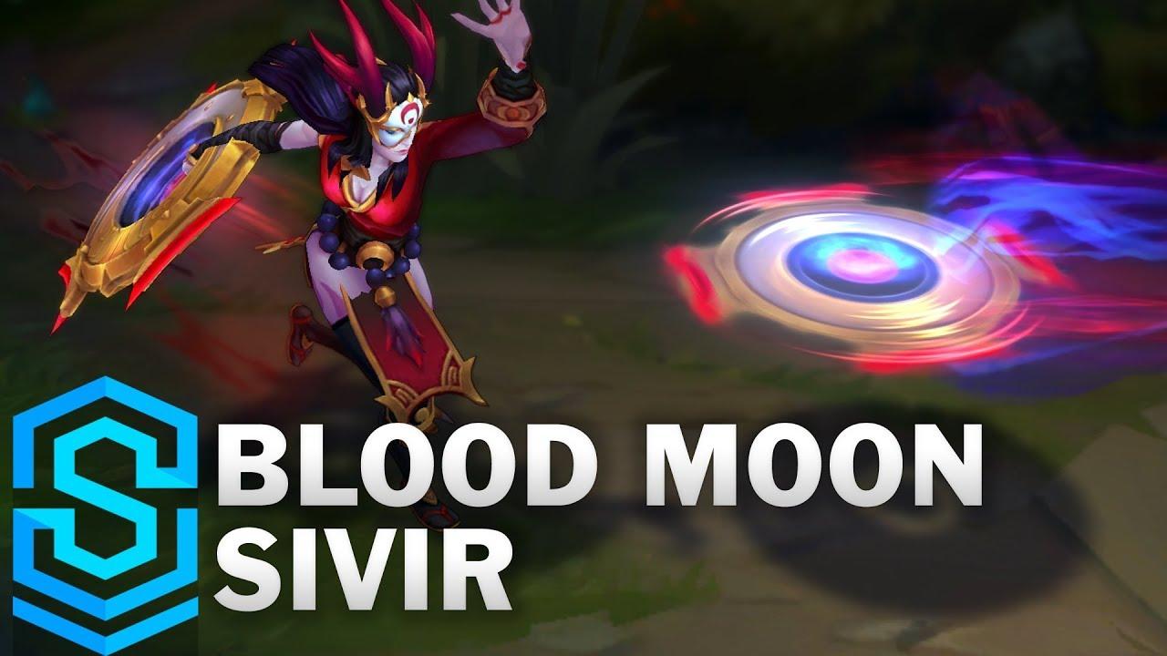 Blood Moon Sivir Leaguesales