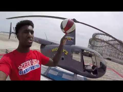 Helicopter Shot | Harlem Globetrotters