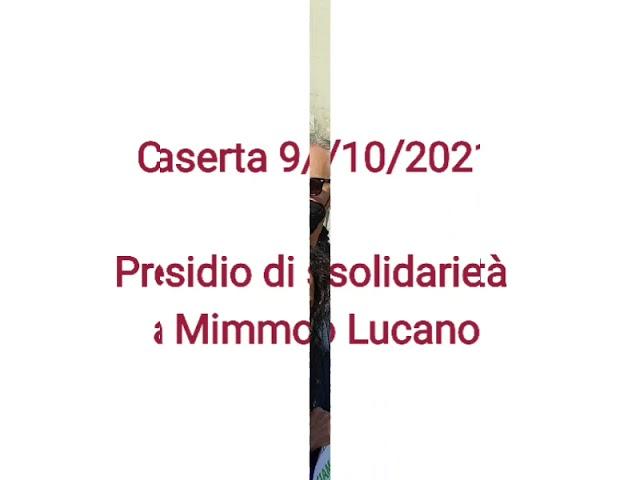 Intervento di Monsignor Nogaro al presidio di solidarietà a Mimmo Lucano - Caserta 9-10-2021