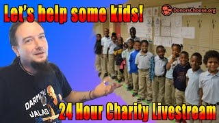 Let's Help Some Kids! (24 Charity Twitch Livestream Announcement)