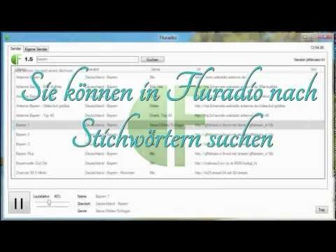Fluradio1.5 Webradio Internetradio programmiert mit Visual Basic