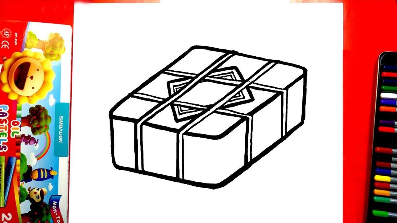 Vẽ bánh Chưng – Cách vẽ bánh Chưng ngày Tết đơn giản