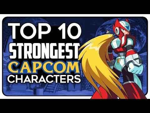 Top 10 STRONGEST Capcom Characters! | Kaleb I.A.