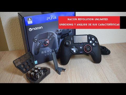 Nacon Revolution Unlimited Pro Controller. Unboxing y análisis del mando de competición