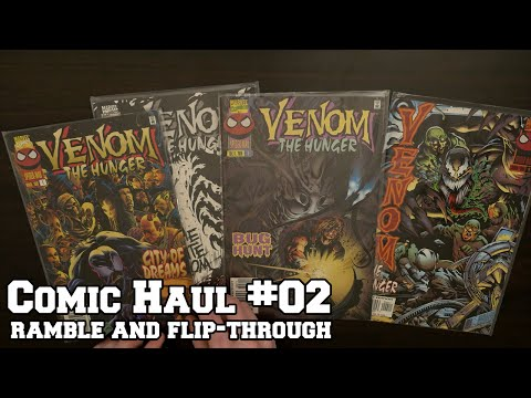 Comic Haul #02 - Ramble & Flip-Through (Soft Spoken)