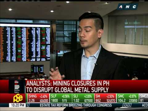 Mining stocks take beating amid DENR clampdown