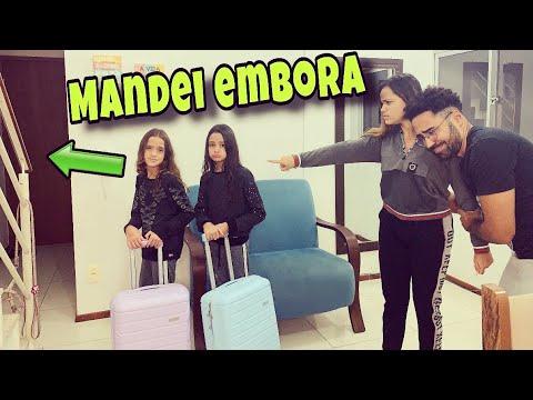 TROLLEI AS MENINAS MANDANDO ELAS EMBORA DE CASA