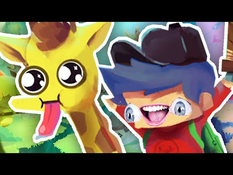 I GOT A MAGICAL GIRAFFE FOR MY BIRTHDAY!! | The Adventure Pals