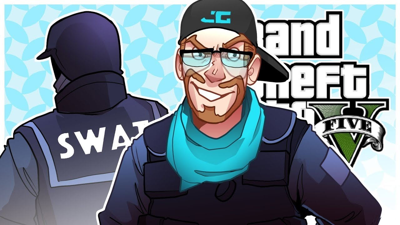 Gta 5 Roleplay Joining The Swat Team Gta 5 Rp Multiplayer Youtube