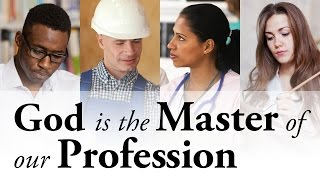 God Is the Master of Our Profession - Pastor Tim Price