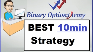 Best 10 MINUTE Trading Strategy for Binary Options