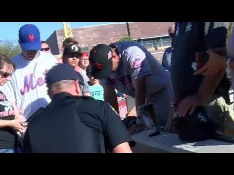 Kathi Yeager - Tim Tebow Prays Over A  Fan Suffering From A Seizure