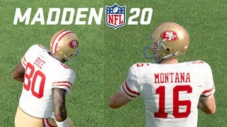 JOE MONTANA AND JERRY R CE ARE BACK Madden 20 Ultimate Team Gameplay