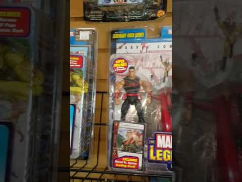 Collector's Choice gaming and action figure store walkthrough  