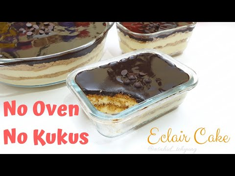 How to Make Simple Non-Steamed Eclair Cake Recipes