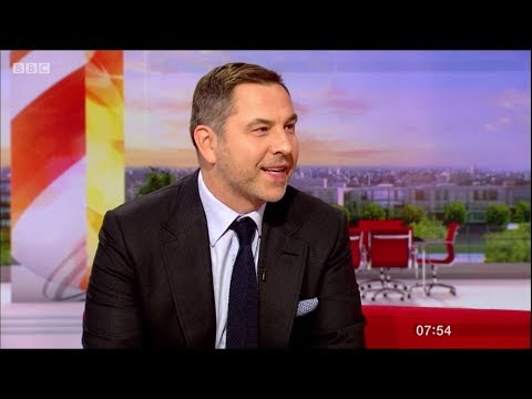 David Walliams - Interview on BBC Breakfast