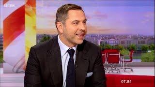 David Walliams - Interview on BBC Breakfast