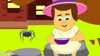 Little Miss Muffet | Nursery Rhymes | Nursery Rhymes Songs For Babies by Hooplakidz