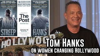 The Post Press Conference  - Tom Hanks on Women changing the film industry