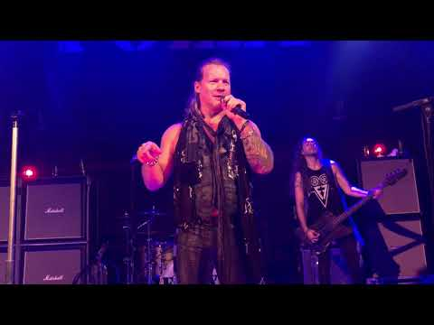 FOZZY - I Keep Forgettin'  / Enemy (ending) - Indianapolis IN 9/13/2018 Chris Jericho