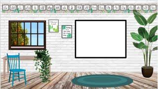 bitmoji classroom virtual background google tutorial classrooms education