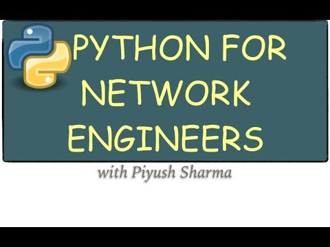 Python Programming for Network Engineer