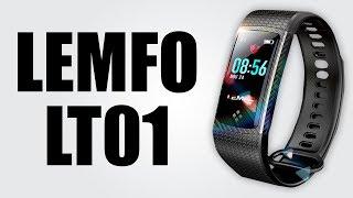 LEMFO LT01 - Color LCD display / IP67 waterproof / Heart rate monitor