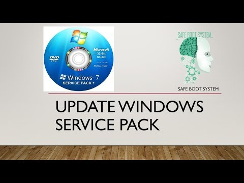 How To Download Windows 7 Service Pack 1 And Install   SP1   SP2   Safe Boot System