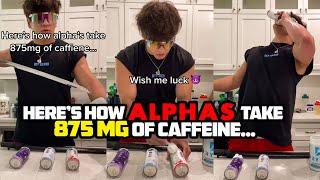إليك كيفية تناول Alphas 875 Mg من الكافيين ...