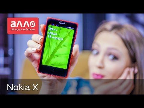Видео-обзор смартфона Nokia X