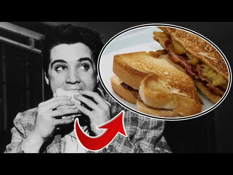 El Sandwich De Elvis Presley Peanut Butter Banana Sandwich Youtube