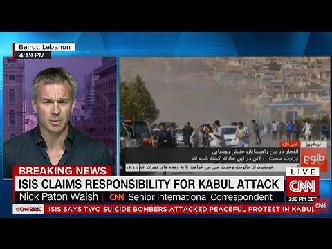 Kabul Explosion - ISIS Attack kills 80 over 200 wounded - ISIS claims Responsibility