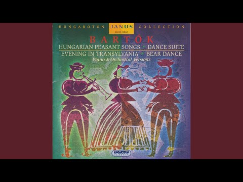 15 Hungarian Peasant Song Sz 71, BB 79 (Old dance tunes) 8. Allegretto