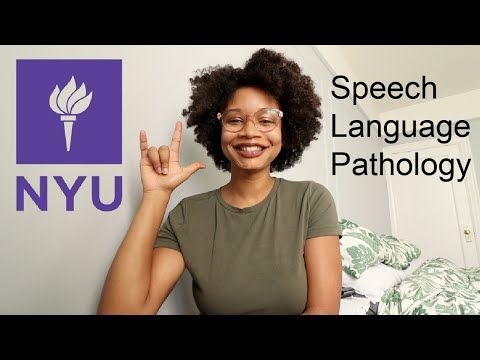 How I got into NYU   Speech Language Pathology Graduate School   Speech@NYU
