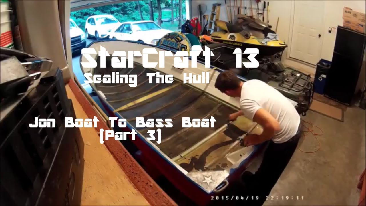 Starcraft 13 Sea Scamp Sealing And Painting The Inside Hull