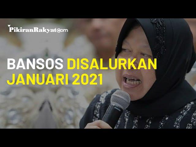 Bansos Akan Disalurkan Awal Januari 2021, Mesos Tri Rismaharini  Berharap Tak Ada Penyelewengan