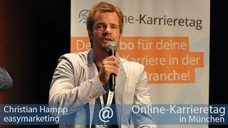 """Christian Hampp, easymarketing: """"Das Profil muss zu dem Unternehmen und der Tätigkeit passen."""