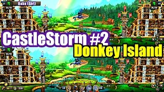 Castlestorm #2 DONKEY ISLAND SPLIT SCREEN VERSUS (XBox One Gameplay)