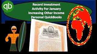QuickBooks - Unrealized Income Recorded As Other Income