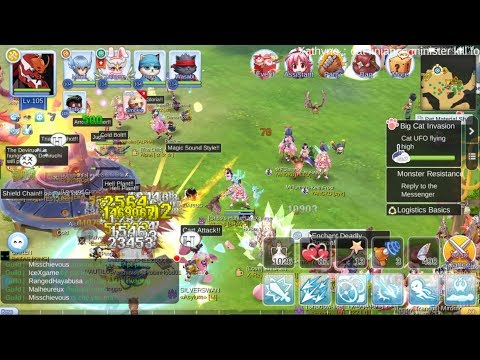 Ragnarok M Eternal Love UFO BigCat Event