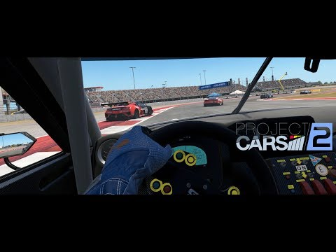 Project CARS 2:  Online - GT3 @ COTA - VR Gameplay