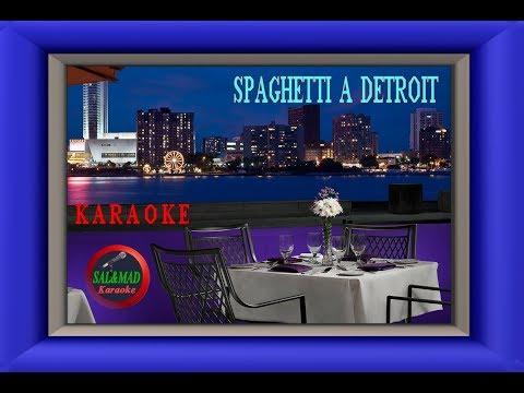 Spaghetti a Detroit (Coro Originale) - Bongusto - KARAOKE