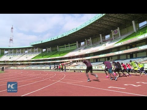 History-making Kenya athletes back to heroic welcome from China