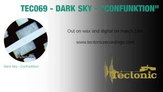 Gambar cover Dark Sky  : Confunktion - Tectonic Recordings