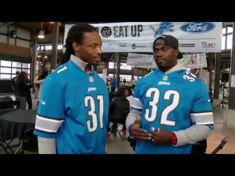 Detroit Lions James Ihedigbo & Rashean Mathis