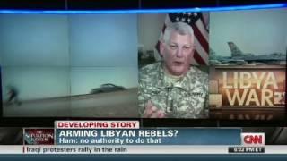 Video CNN: Gen. Ham  'We will not arm Libyan rebels' download MP3, 3GP, MP4, WEBM, AVI, FLV November 2018
