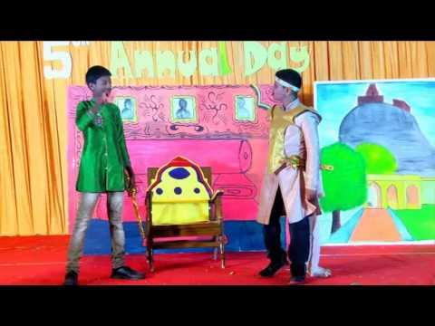 RDPS:Raja Desing - Skit performed by VIII grade students